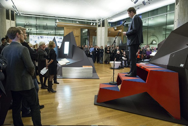 Åpning Arkitekturimport - exhibition opening