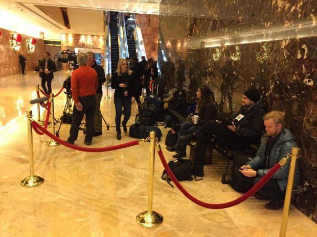 El uso del banco restringido a la prensa - Foto: Jerold S. Kayden - The Boston Globe