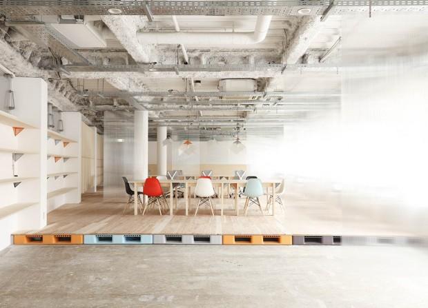 Mozilla Factory Space - Foto y diseño por Nosigner