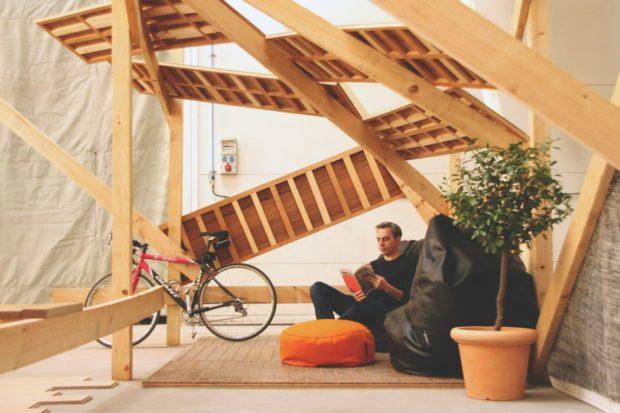 Vista de uno de los nuevos espacios creados durante el taller - Fuente: CivicWise