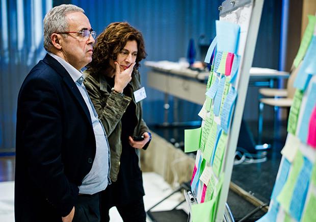 Fernando Barreiro y Mireia Sanabria, expertos URBACT