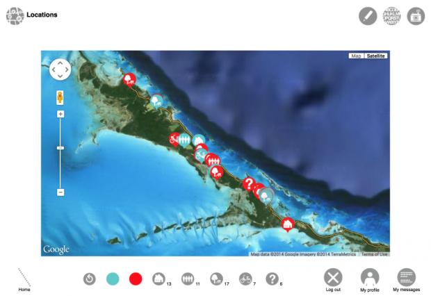 exumadreams con whatif - captura de la vista de mapa
