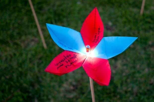 """La """"flor"""" resultante"""