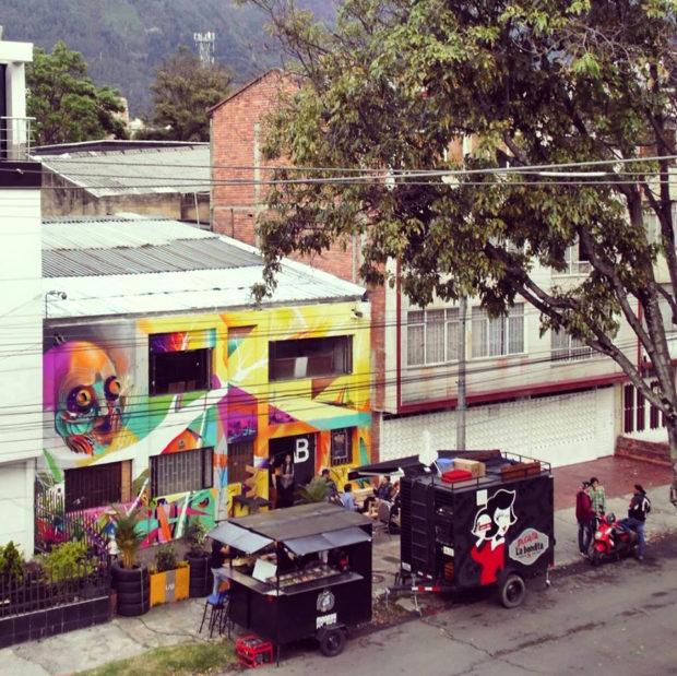 Vista de LAB1 desde la calle