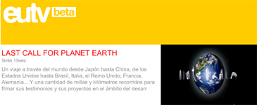 last call for planet earth