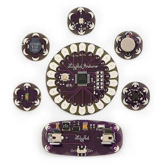 Lilypad arduino un kit para construir textiles