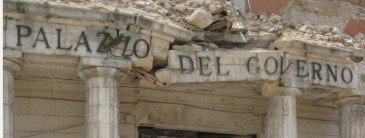 palazzo del cgoverno terremoto