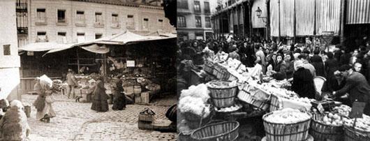 Mercado_de_San_Miguel1910 y 1950
