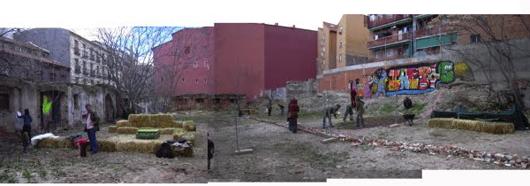 community garden ¡Esta es Una Plaza!