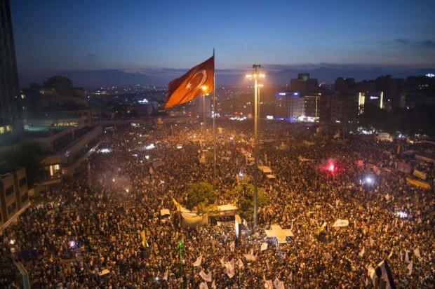 2013 Taksim Gezi Park by Flashstorm