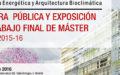 Presentación Trabajos Fin de Máster en Arquitectura y Energía | Entrevista a Belinda Tato blog de Stepienybarno