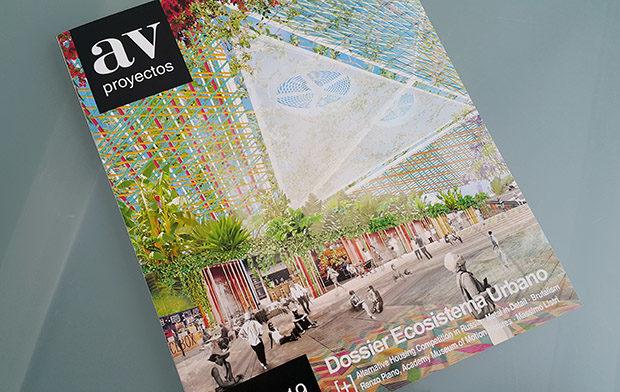 Portada del dossier de Ecosistema Urbano en AV Proyectos