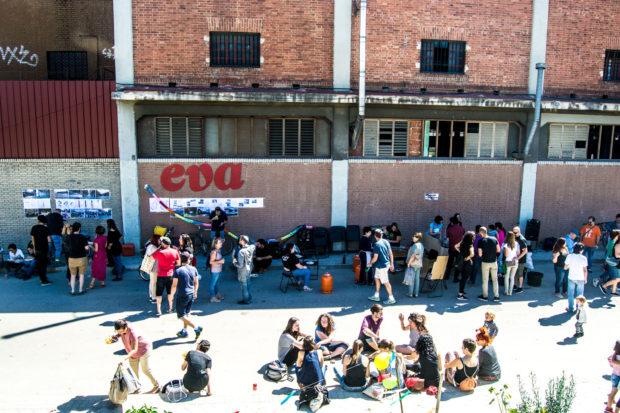 Vecinos de Arganzuela, dando vida al Mercado de Legazpi