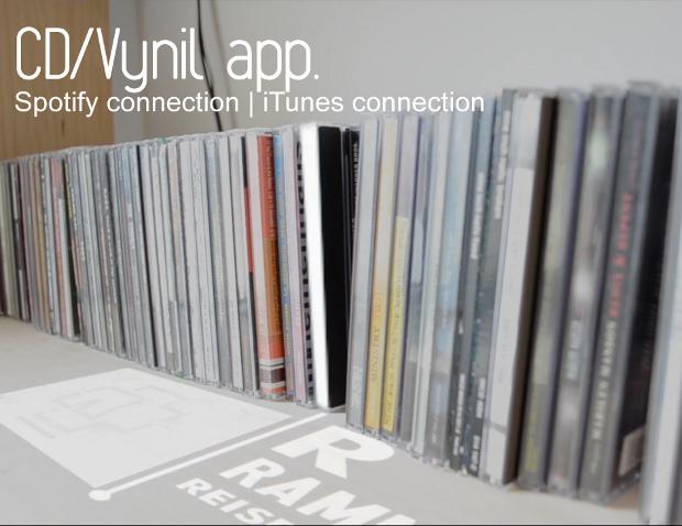 CD / vinyl app