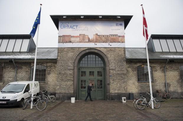 Entrada al Øksnehallen - Foto: URBACT