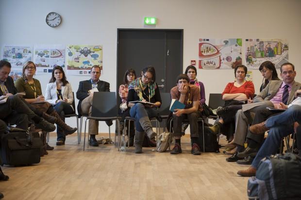 Gran diversidad de asistentes - Foto: URBACT