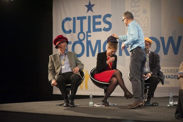 Introduciendo una componente de juego en los debates - Foto: URBACT