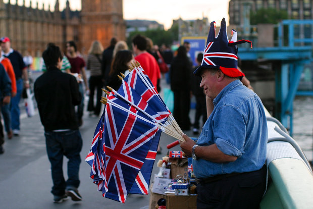 Vendedor en Londres - Foto:  Brian Jeffery Beggerly