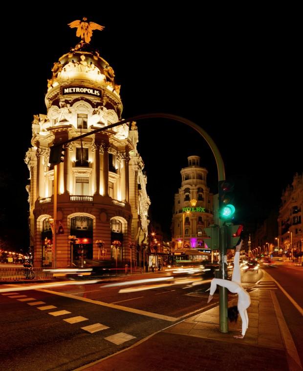 Space Potential: Urban Yoga Madrid, photo: Emilio P. Doiztua