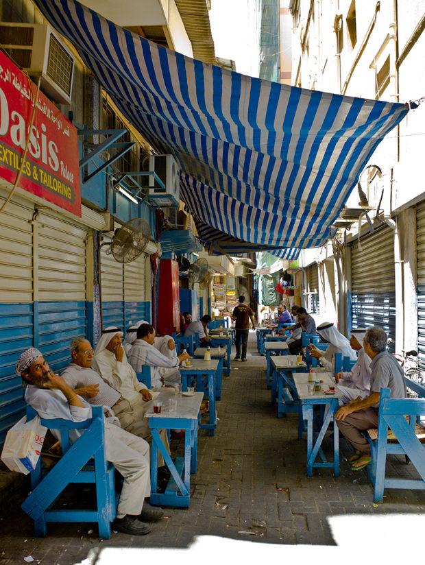 A street in Bahrain, photo by Emilio P. Doitzua