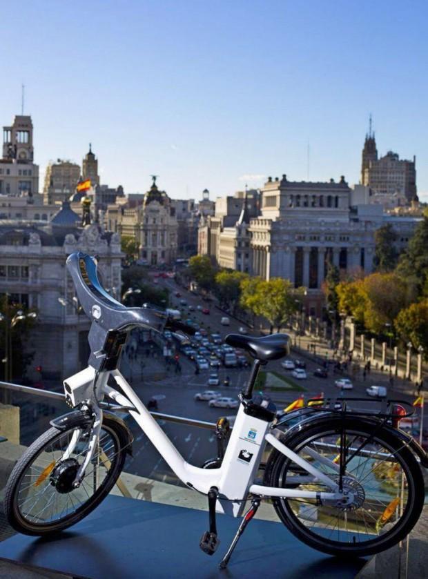 La bicicleta de BiciMAD - Fuente: Teresa López @telesa_lh