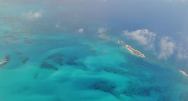 Sobrevolando el Caribe