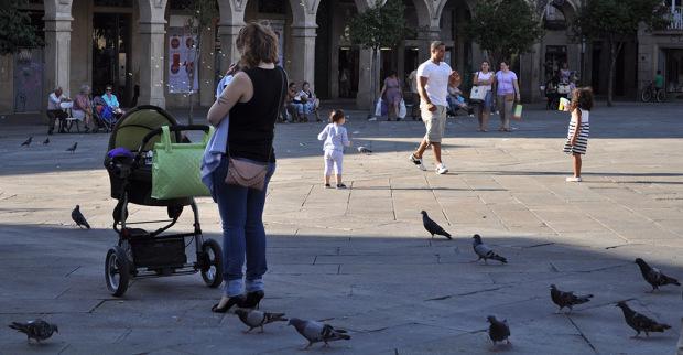 Praza da Ferraría, Pontevedra - Foto por Diana Piñeiro