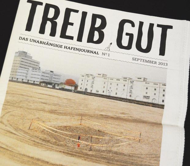 TREIB GUT magazine - Cover
