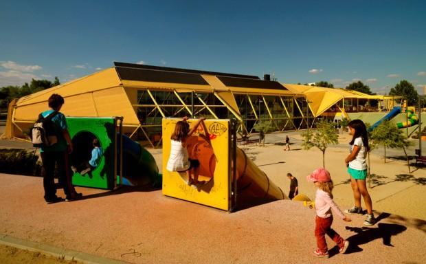 Ecópolis Plaza - Ecosistema Urbano - Photo by Emilio P. Doiztúa