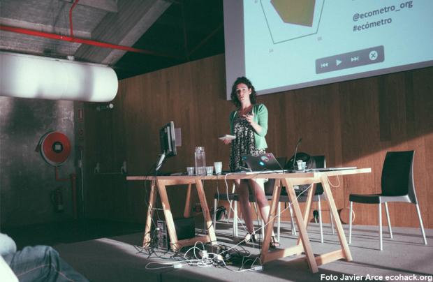 Una de las presentaciones del proyecto - Foto: Javier Arce ecohack.org