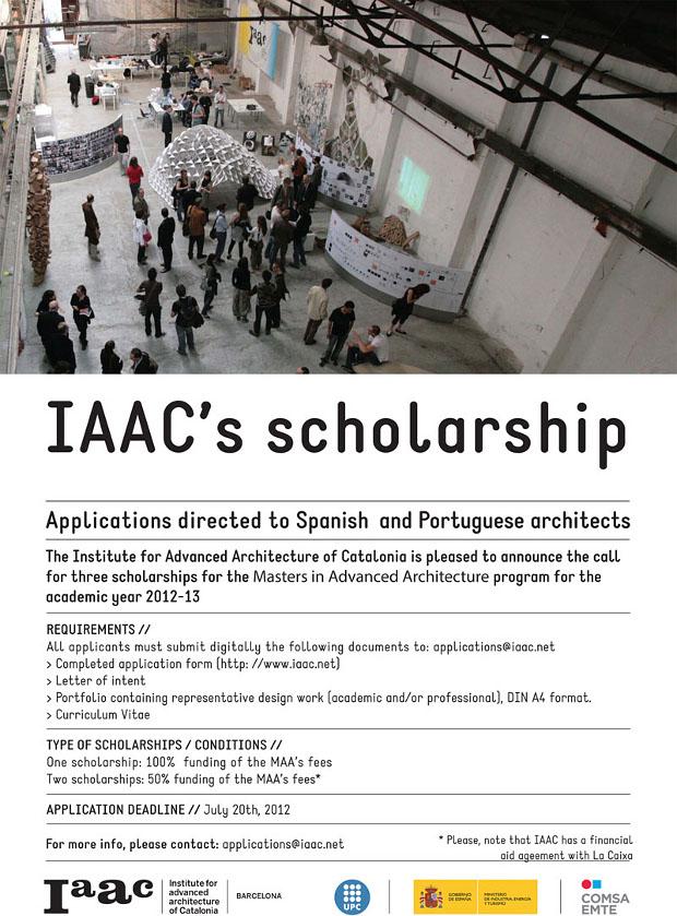 IAAC scholarships