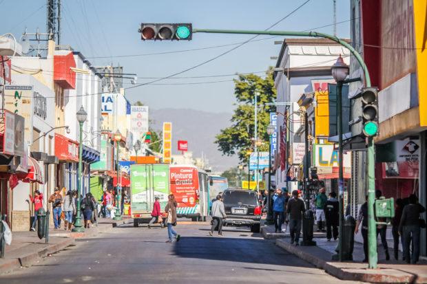 Imagen de una de las calles del centro de Hermosillo - Foto: IMPLAN