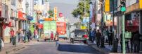 Imagen de una calle de Hermosillo, Mexico