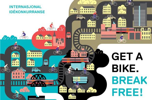 Illustrasjon Get a bike