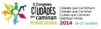 Pontevedra - Logo del congreso Ciudades que caminan