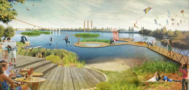 Nuevas actividades y formas de relación de la ciudad con el agua