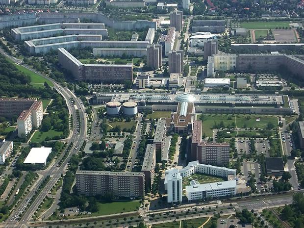 Grünau, Leipzig - Imagen por Martin Geisler en Wikipedia