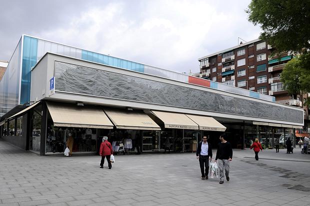 Mercado de les Corts - Foto por Mercats de Barcelona en Flickr - clic para ver original
