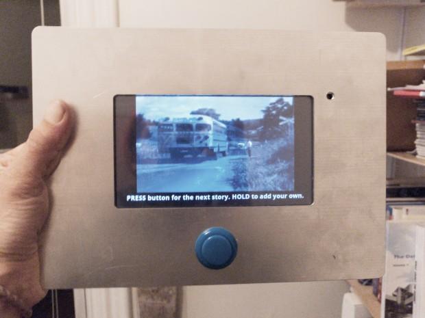 Corner Stories Device