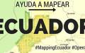 Mapeo humanitario: Cómo ayudar al Ecuador después del terremoto
