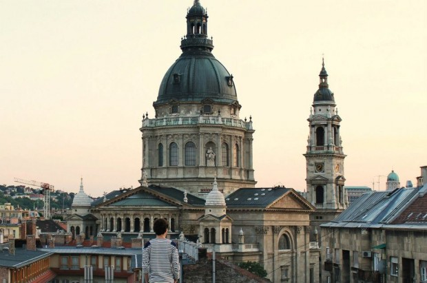 Matthieu Darcourt in Budapest