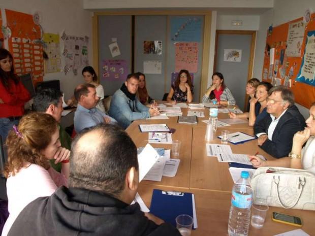 Reunión del Grupo de Apoyo Local - Imagen por USER Málaga