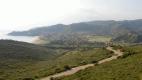 Solanas from Capo Boi hill
