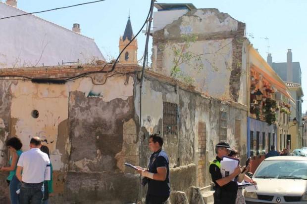 Diagnóstico a pie por la zona – Imagen por USER Málaga