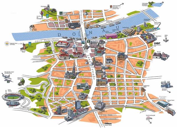 Tourist city map - Click to View PDF