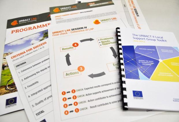 Algunos de los materiales que se utilizan - Foto: URBACT