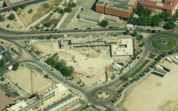 Vista aérea de Plaza Ecópolis en Bing Maps - Clic para ver mapa