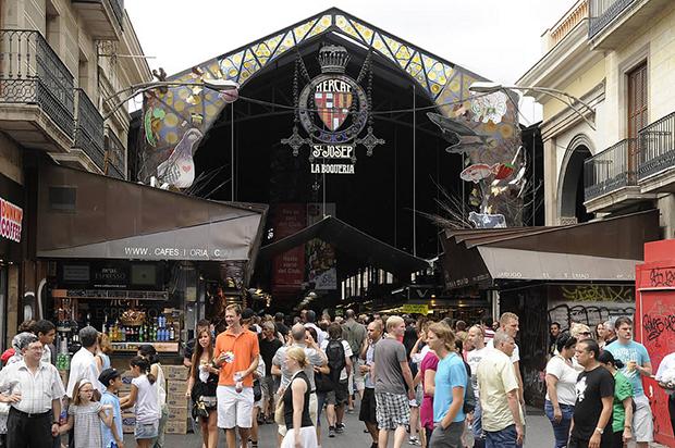 Mercado de la Boqueria - Foto por Mercats de Barcelona en Flickr