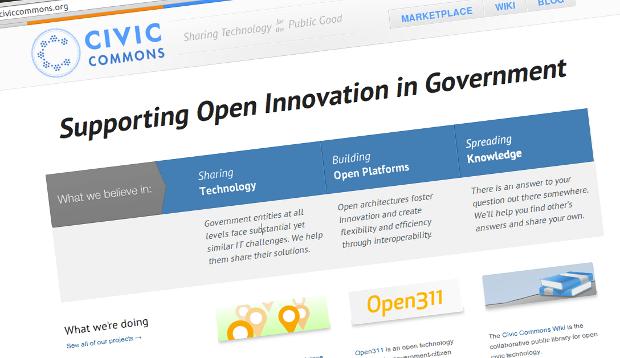 Web de Civic Commons