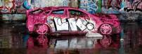 Coche abandonado - Foto por Nina Matthews en Flickr